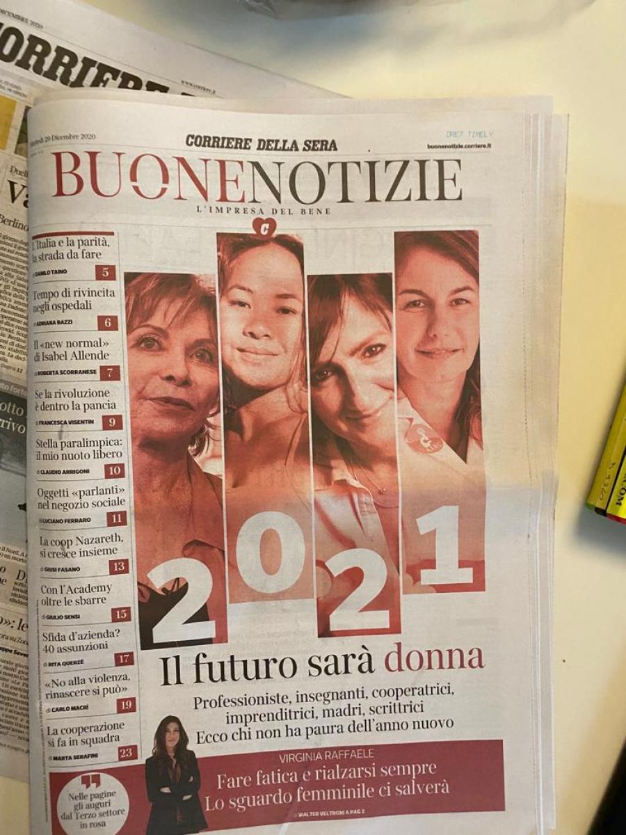 2021: il futuro sarà donna