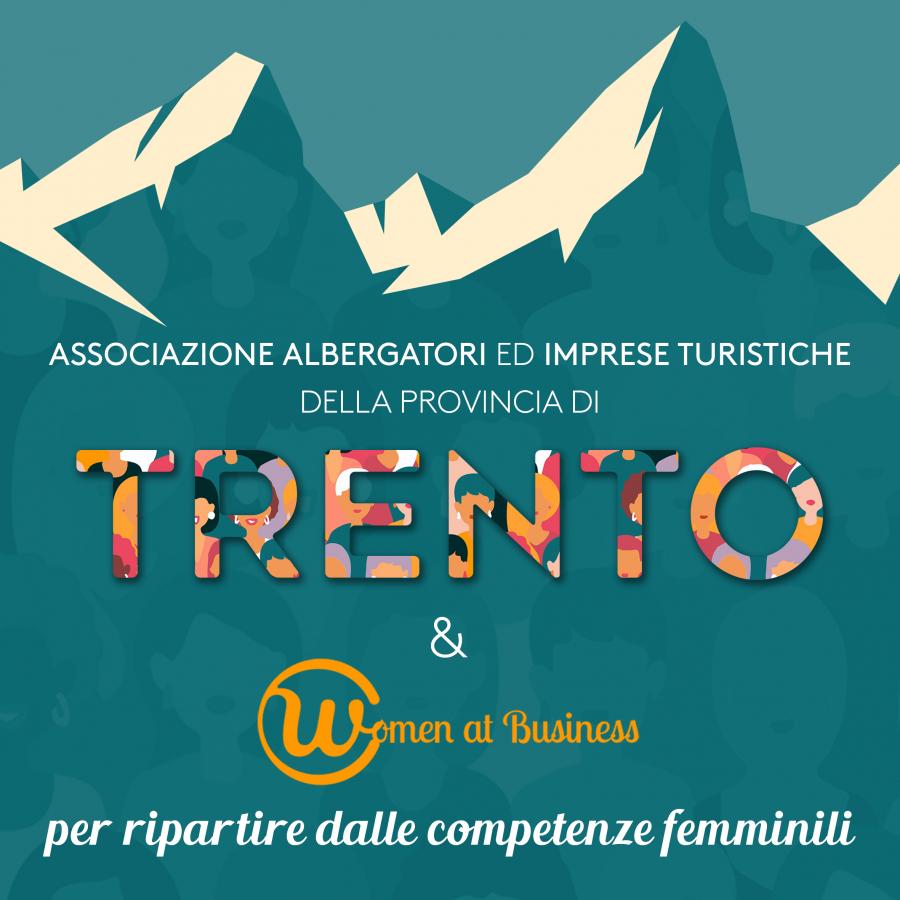 Hotelmag.it Trentino. Accordo ASAT con Women at Business