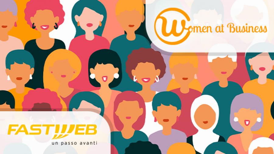 fastweb.it Fastweb in campo per le competenze femminili, siglata la partnership con Women At Business