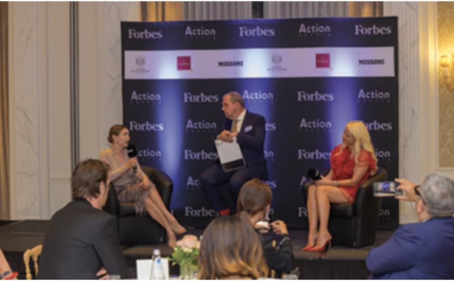MediaKey.tv Si è svolto a Palazzo Parigi a Milano il Forbes Women's Party