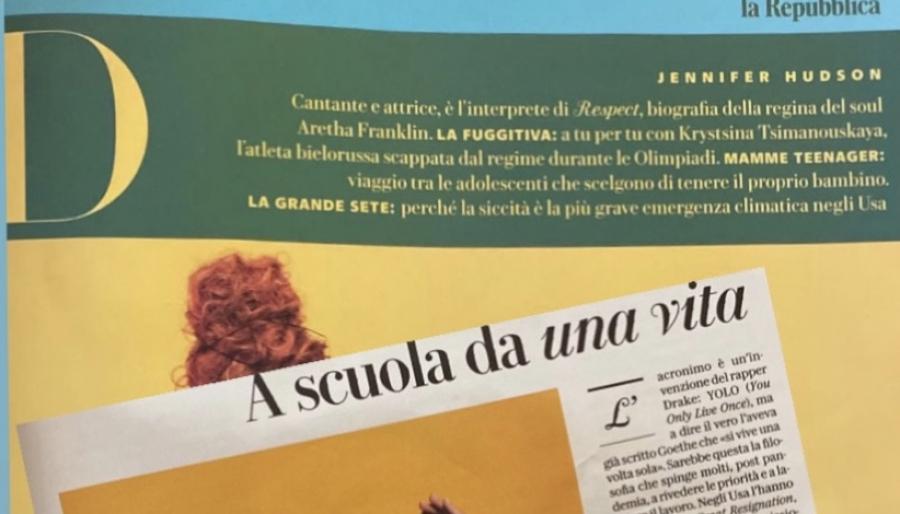 D La Repubblica. A scuola da una vita